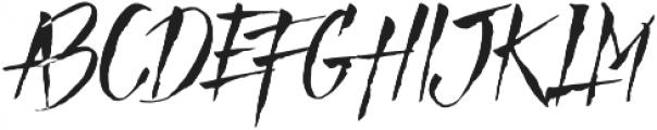 Mad Faith otf (400) Font UPPERCASE