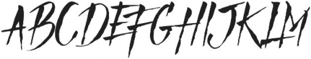 Mad Faith otf (400) Font LOWERCASE
