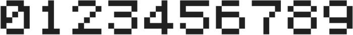 MadMattZensoisPixelated SUB3D ttf (400) Font OTHER CHARS