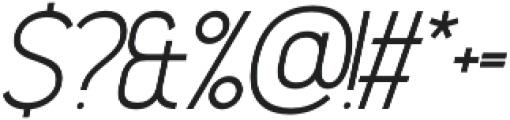 Madchen Light Italic otf (300) Font OTHER CHARS