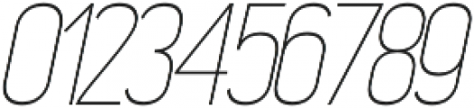 Madchen Thin Italic otf (100) Font OTHER CHARS
