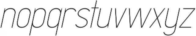 Madchen Thin Italic otf (100) Font LOWERCASE