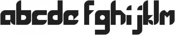 Maddac ttf (400) Font LOWERCASE
