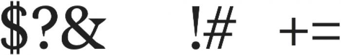 Maddex Medium otf (500) Font OTHER CHARS