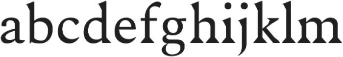 Maddex Medium otf (500) Font LOWERCASE