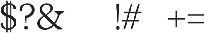 Maddex otf (400) Font OTHER CHARS
