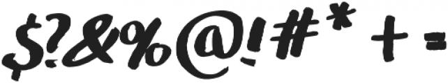 Maddox otf (700) Font OTHER CHARS