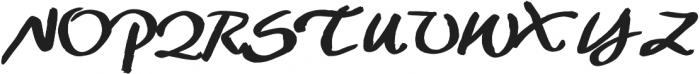 Maddox otf (700) Font UPPERCASE