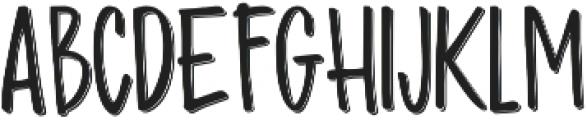 Madhouz Sans Shadow otf (400) Font UPPERCASE