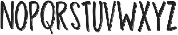 Madhouz Sans Shadow otf (400) Font LOWERCASE