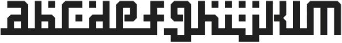 Madina Regular otf (400) Font LOWERCASE