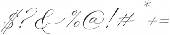 Madison Street Stylistic otf (400) Font OTHER CHARS