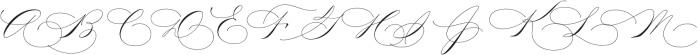 Madison Street Stylistic otf (400) Font UPPERCASE