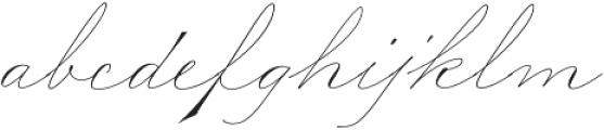 Madison Street Stylistic otf (400) Font LOWERCASE