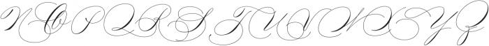Madison Street Swash otf (400) Font UPPERCASE