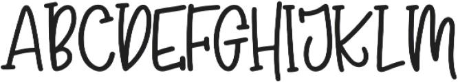 Madison's tail otf (400) Font UPPERCASE