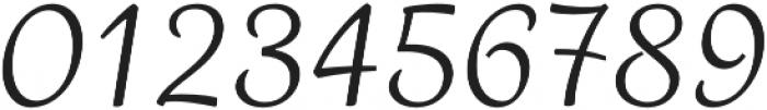 Madre Script Italic otf (400) Font OTHER CHARS