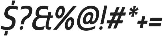 Madurai Cond Medium Italic otf (500) Font OTHER CHARS