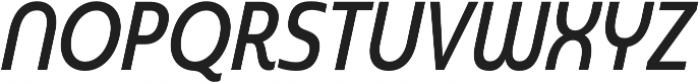 Madurai Cond Medium Italic otf (500) Font UPPERCASE