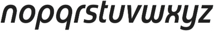 Madurai Cond Medium Italic otf (500) Font LOWERCASE