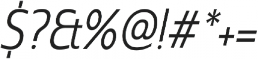 Madurai Cond Regular Italic otf (400) Font OTHER CHARS
