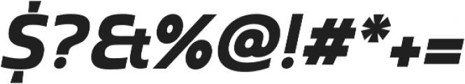 Madurai Ext Black Italic otf (900) Font OTHER CHARS