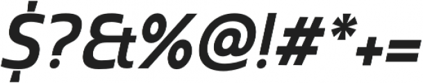 Madurai Norm Bold Italic otf (700) Font OTHER CHARS
