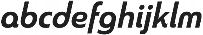 Madurai Norm Bold Italic otf (700) Font LOWERCASE