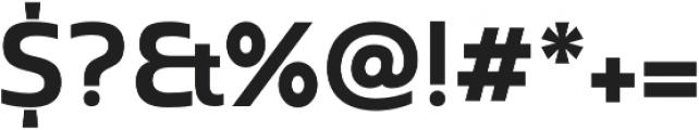 Madurai Norm Bold otf (700) Font OTHER CHARS