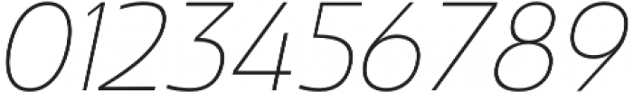 Madurai Norm Thin Italic otf (100) Font OTHER CHARS