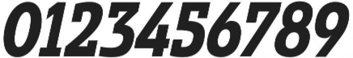 Madurai Slab Cond ExBold It otf (700) Font OTHER CHARS