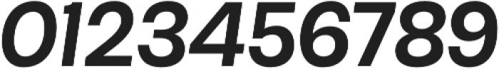 Maestri Medium otf (500) Font OTHER CHARS