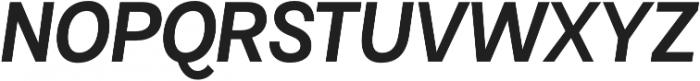 Maestri Medium otf (500) Font UPPERCASE