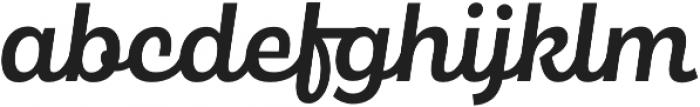 Maestri Medium otf (500) Font LOWERCASE