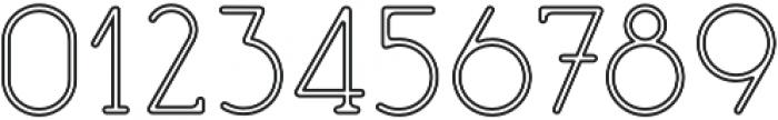 Mafond Light Stroked otf (300) Font OTHER CHARS