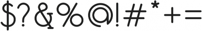 Mafond otf (400) Font OTHER CHARS