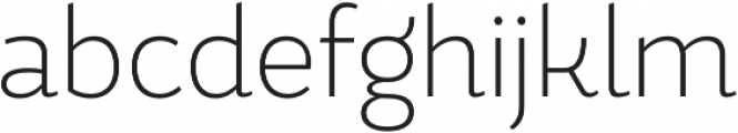 Magallanes Cond ExtraLight otf (200) Font LOWERCASE