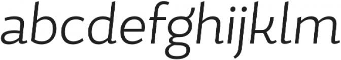 Magallanes Cond Light Italic otf (300) Font LOWERCASE