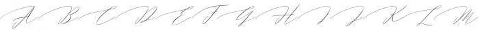 Magarella Script Regular otf (400) Font UPPERCASE