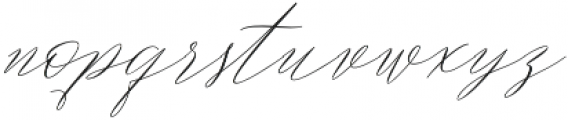 Magarella Script Regular otf (400) Font LOWERCASE