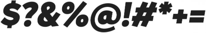 Magdelin Alt Black Italic otf (900) Font OTHER CHARS