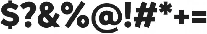 Magdelin Alt ExtraBold otf (700) Font OTHER CHARS