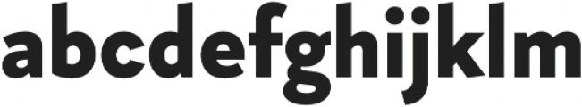 Magdelin Alt ExtraBold otf (700) Font LOWERCASE
