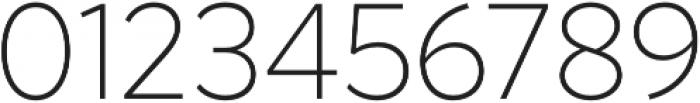 Magdelin Alt ExtraLight otf (200) Font OTHER CHARS