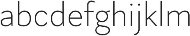 Magdelin Alt ExtraLight otf (200) Font LOWERCASE