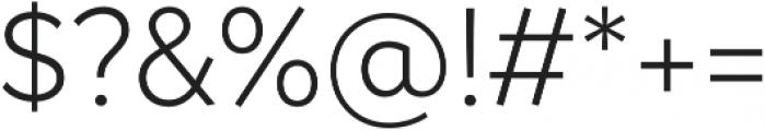 Magdelin Alt Light otf (300) Font OTHER CHARS