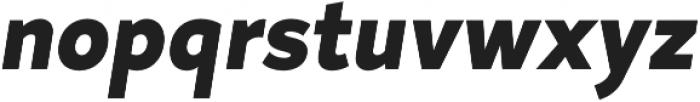 Magdelin ExtraBold Italic otf (700) Font LOWERCASE