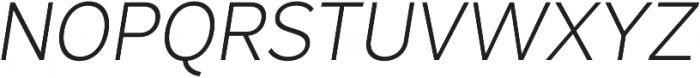 Magdelin Light Italic otf (300) Font UPPERCASE