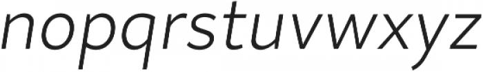 Magdelin Light Italic otf (300) Font LOWERCASE