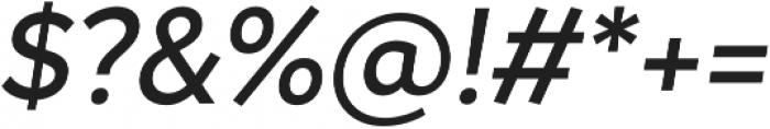 Magdelin Medium Italic otf (500) Font OTHER CHARS